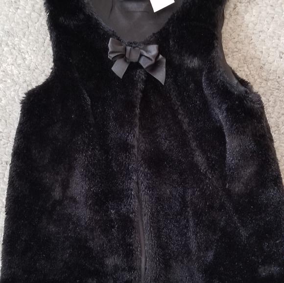 Girls Faux Fur Vest by Heidi Klum